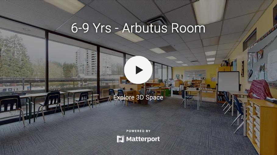 6-9 Yrs Arbutus Room 3D Virtual Tour