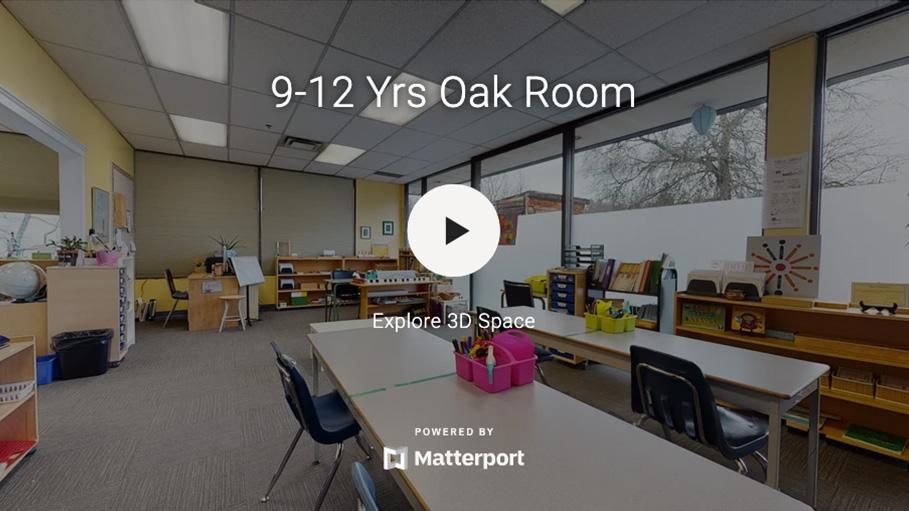 9-12 Yrs Oak Room 3D Virtual Tour